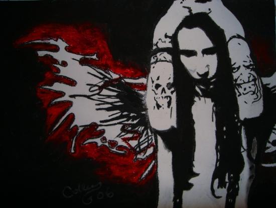 Marilyn Manson por Colleen